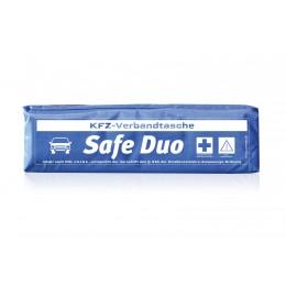 KFZ-Verbandstasche - Safe Duo blau inkl. Standarddruck