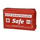 KFZ-Verbandstasche Safe rot inkl. Standarddruck