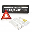 Kfz-Verbandstasche Safe Duo mit Standardmotiv