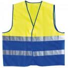 Warnweste TWO COLOUR gelb/blau