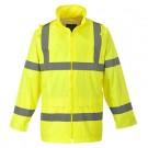 Warnschutz Regenjacke EN ISO 20471 Klasse 3 EN 343 Klasse 3:1-gelb
